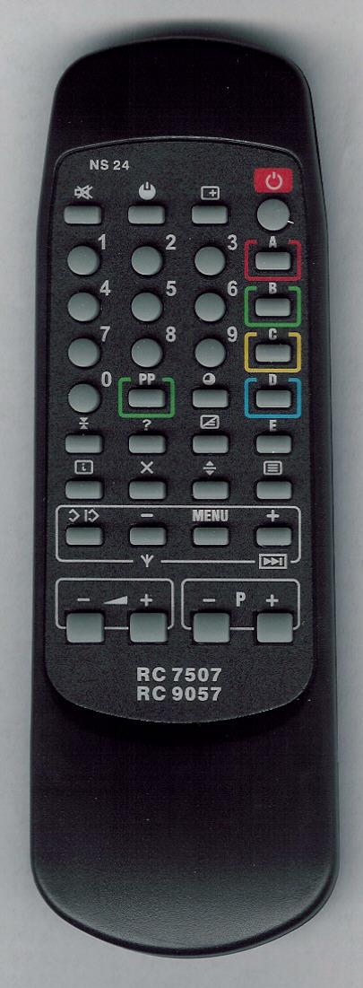 PHILIPS-15PT156B Náhradní dálkový ovladač.