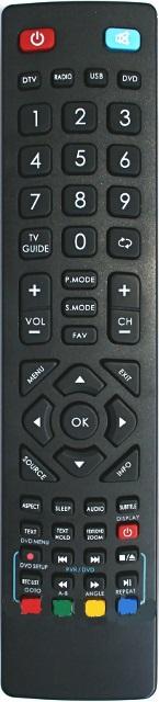 XORO HTC2444 originální dálkový ovladač.