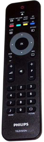 Philips RC4747 996510021923 originální dálkový ovladač