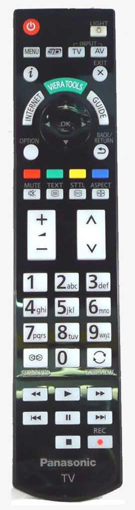 Panasonic N2QAYB000816 byl nahrazen N2QAYB000715 originální dálkový ovladač.