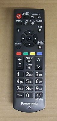 The Panasonic N2QAYB000816 has been replaced by the original N2QAYB000715 remote control.