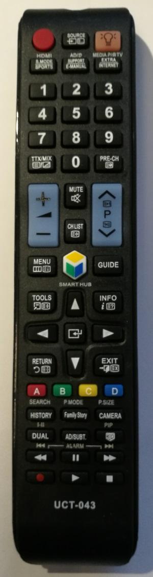 Samsung univerzální dálkový ovladač bez zadávání kódů
