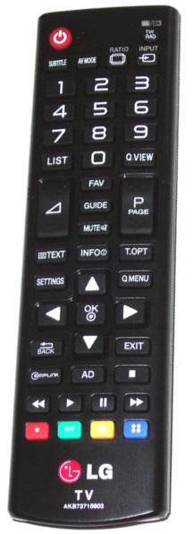 LG  AKB73715639 byl nahrazen AKB73715603 originální dálkový ovladač černý