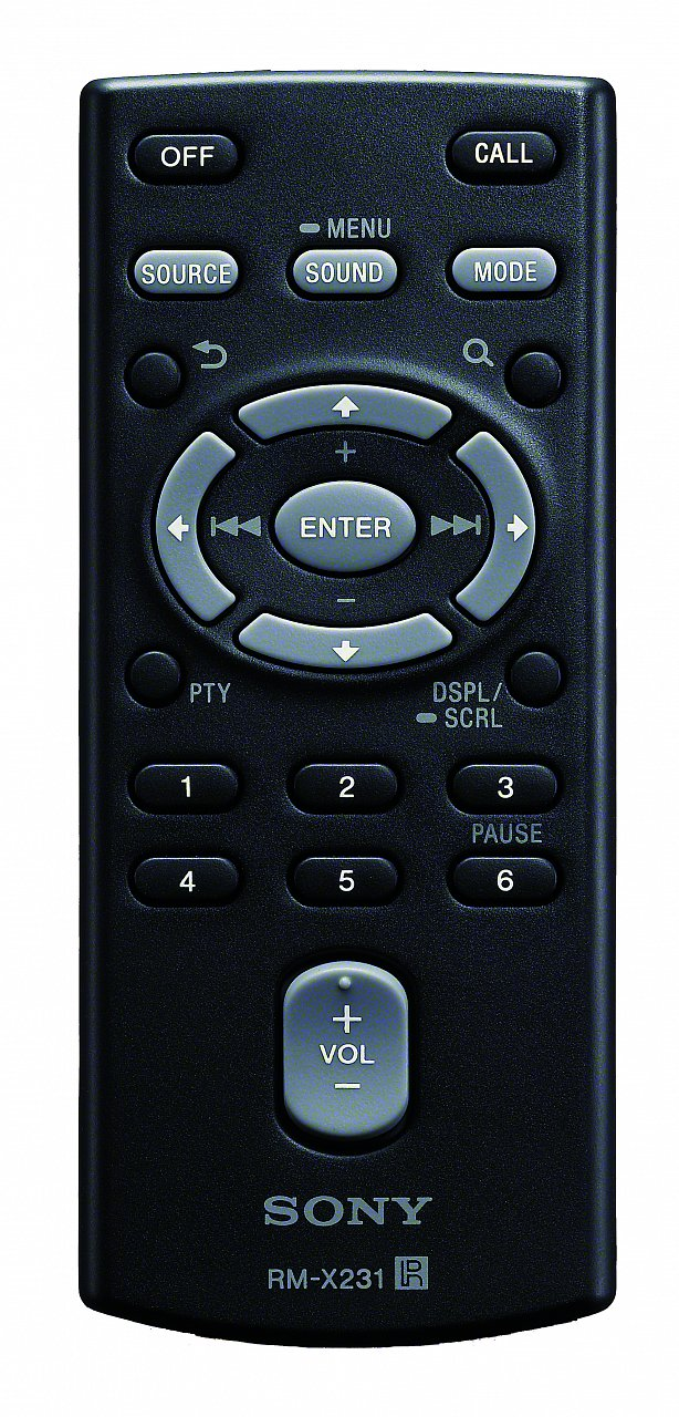 Sony RM-X231 originální dálkový ovladač MEX-BT3150U MEX-BT4100E MEX-BT4100P MEX-BT4100U