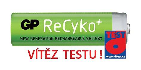 Baterie AA (R6) nabíjecí GP Recyko+ 2000mAh