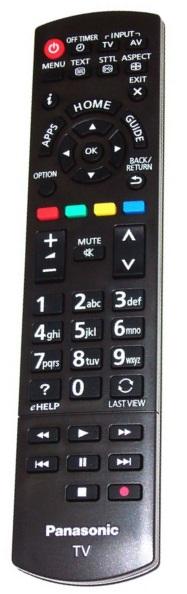 Panasonic N2QAYB000830 originální dálkový ovladač
