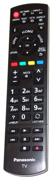 The Panasonic N2QAYB000830 has been replaced by the original N2QAYB000842 remote control
