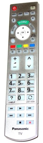 Panasonic N2QAYB000830 byl nahrazen N2QAYB000842 originální dálkový ovladač