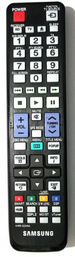 Samsung AH59-02345A náhradní dálkový ovladač jiného vzhledu.