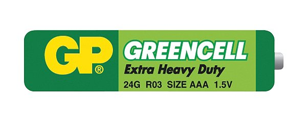 Baterie AAA (R03) Greencell GP