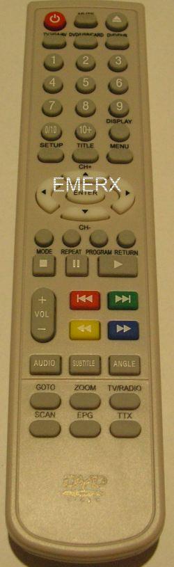 Sencor  SLT1055 DVDP náhradní dálkový ovladač jiného vzhledu