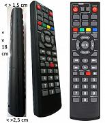 Mascom MC720T2 velký přehledný ovladač  s velkými tlačítky.