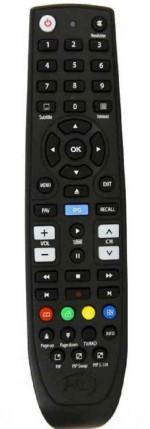 Hdbox FS-7110HD PVR LINUX náhradní dálkový ovladač jiného vzhledu.