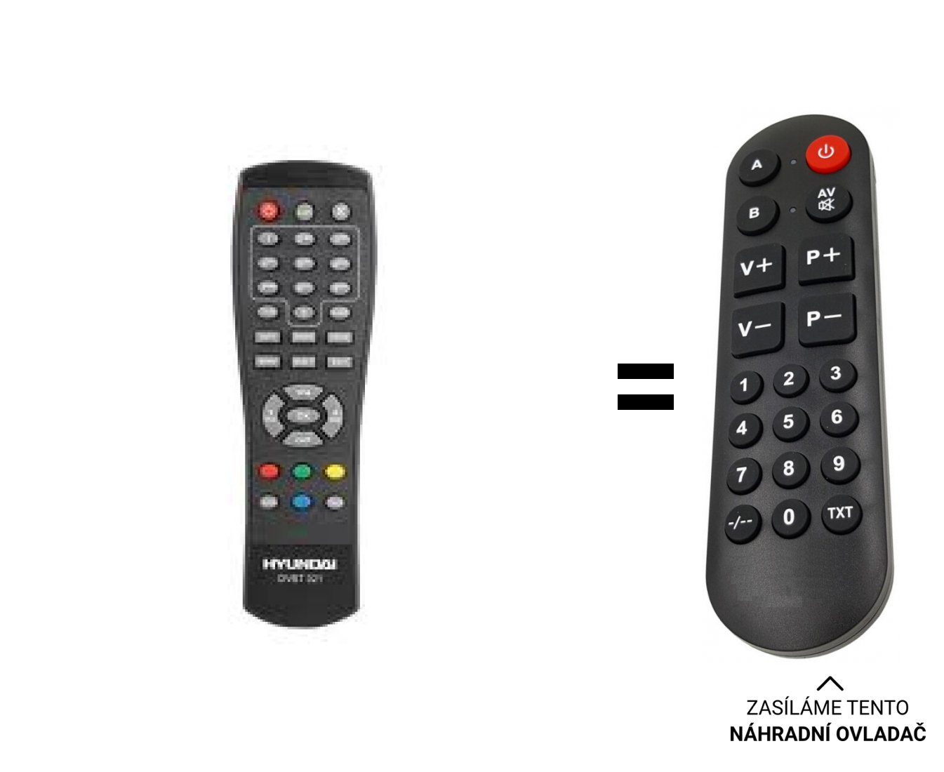 Mascom MC530T replacement remote control for seniors