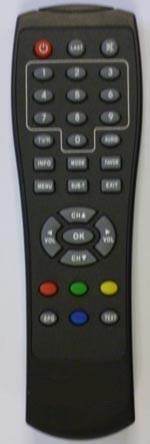 X-site X-SITE XS-DVBT-55B originální dálkový ovladač