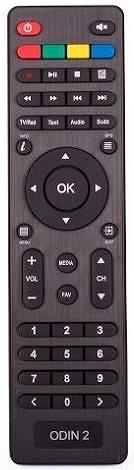Opticum HD AX Odin2 Hybrid DVB-C/T2 originální dálkový ovladač