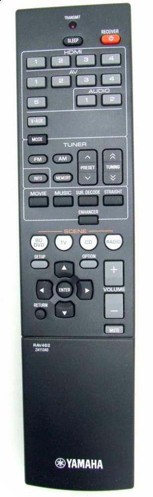 Yamaha RAV462 originální dálkový ovladač