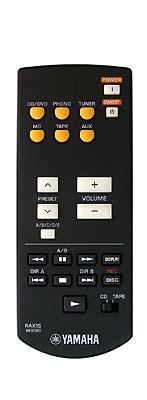 Yamaha RAX15 originální dálkový ovladač