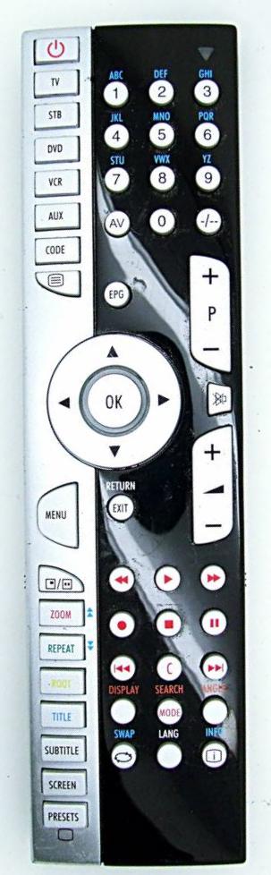 Medion MD 84500 náhradní dálkový ovladač jiného vzhledu
