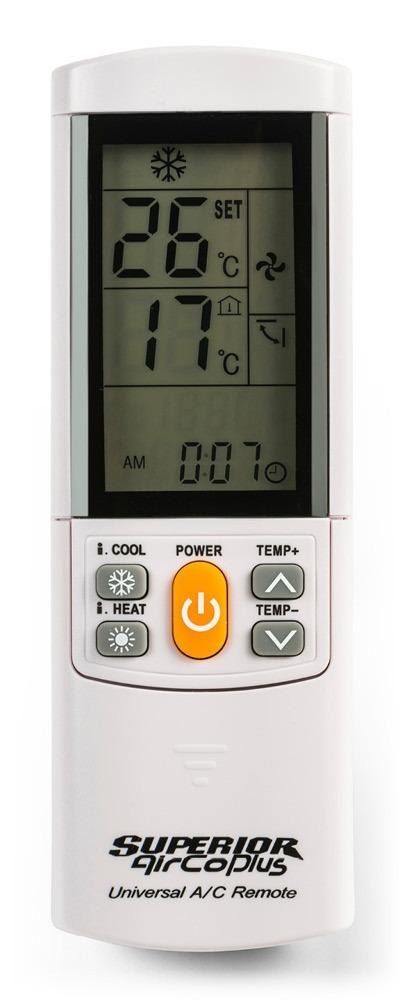 Supperior Aircoplus  univerzální dálkový ovladač pro klimatizace