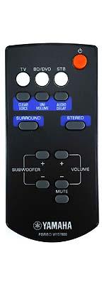 Yamaha YAS-101 originální dálkový ovladač