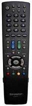 Sharp RRMCGA825WJSA = RRMCGA771WJSA originální dálkový ovladač pro LC-32DH77E, LC37-XL8E,  LC-40LE600E