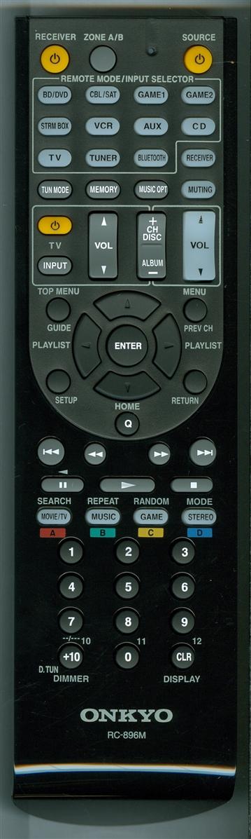 Onkyo RC-896M originální dálkový ovladač