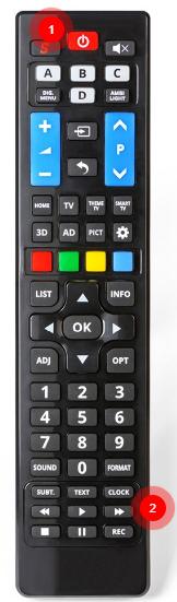 Philips univerzální dálkový ovladač pro TV od roku 2000