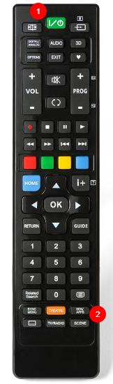 SONY univerzální dálkový ovladač pro TV od roku 2000