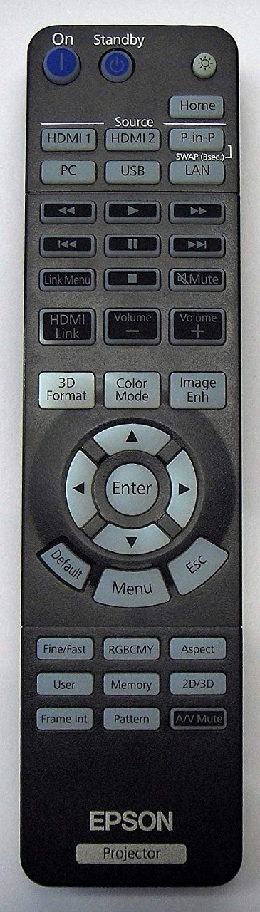 Epson eh-tw6700, eh-tw6700w originální dálkový ovladač