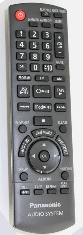 Panasonic SA-PM52 original remote control