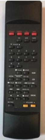 Technics RAK-SA011XH náhradní dálkový ovladač se stejným popisem