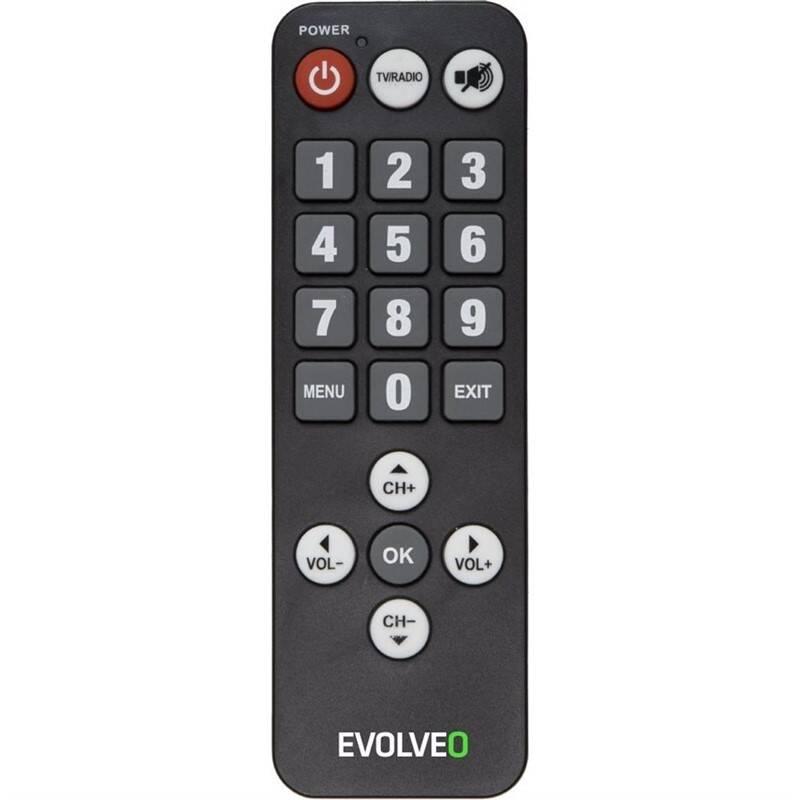 Evolveo Alpha T2 originální dálkový ovladač pro seniory