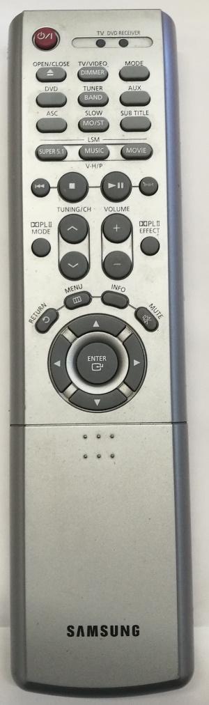 Samsung HT-DB750 náhradní dálkový ovladač jiného vzhledu 01169g