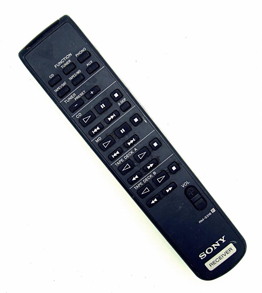 Sony originální dálkový ovladač  RM-S316 pro modely TA-FE910R, TA-FE710R, TA-FE570, TA-FE370S, TA-FE300R, TA-FB730, TA-FE700R, TA-FE300R, TA-FE310R, TA-FE500R, TA-FE510R, TA-F117R, TA-F317.