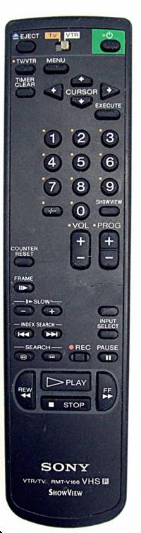 Sony RMT-V166 Originální dálkový ovladač