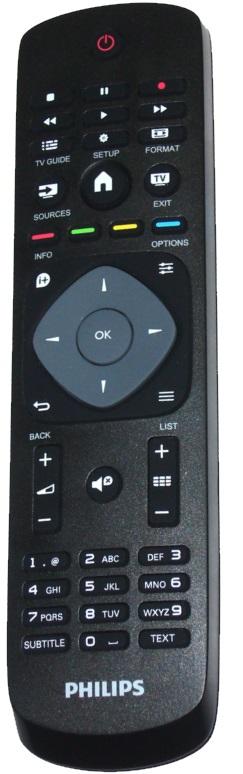 Philips 398GR8BD1NEPHH, 996590009443 originální dálkový ovladač