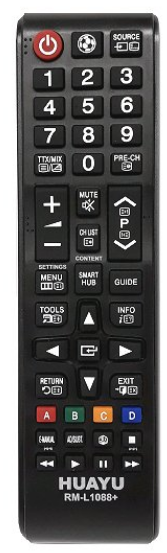 Samsung  RM-L1088 náhradní dálkový ovladač bez nutnosti programování