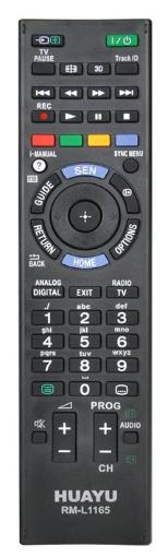 SONY RM-L1165 náhradní dálkový ovladač bez nutnosti programování