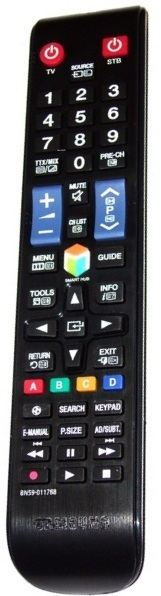 Samsung BN59-01178B náhradní dálkový ovladač stejného vzhledu