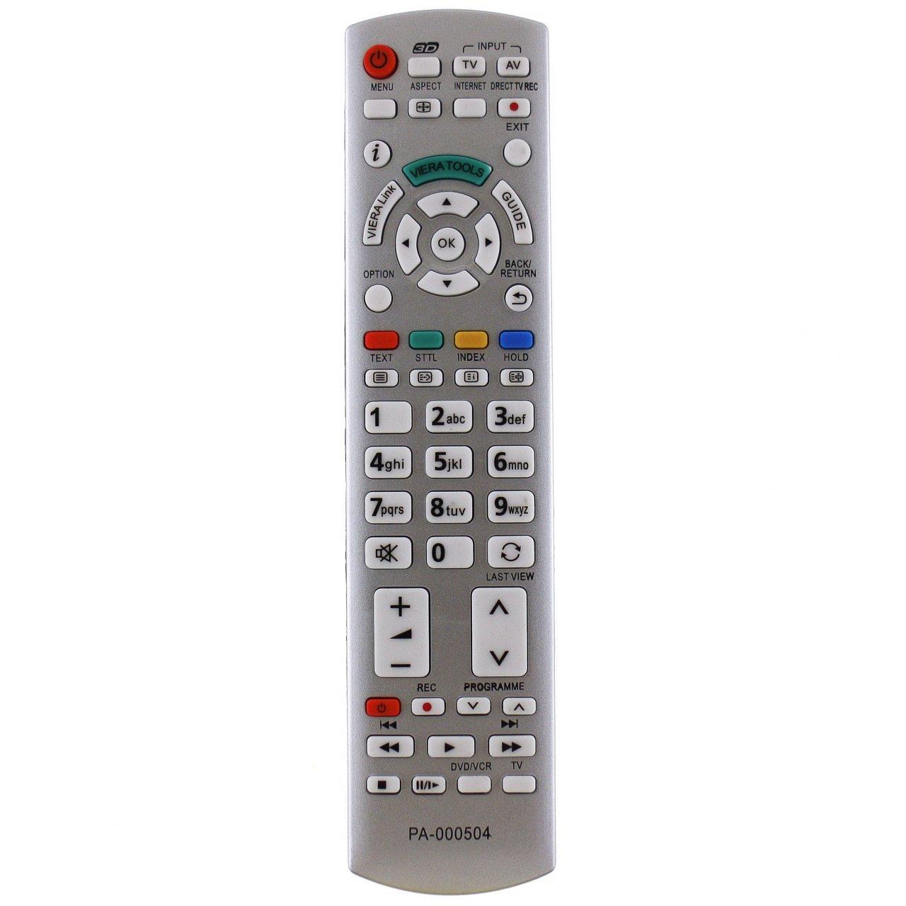 Panasonic N2QAYB000673 náhradní dálkový ovladač stejného vzhledu