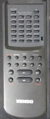 Kendo VR 240 VPS náhradní dálkový ovladač jiného vzhledu