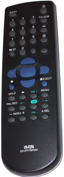 Mascom  VR-F2PA, VRF2PA  náhradní dálkový ovladač jiného vzhledu