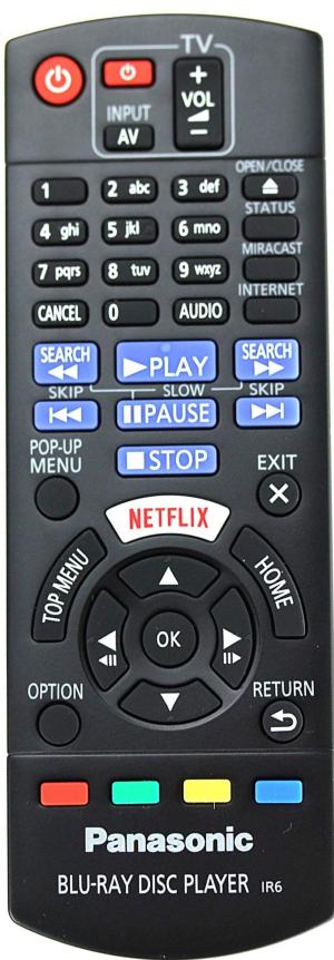 Panasonic N2QAYB001060 originální dálkový ovladač DMP-BD570