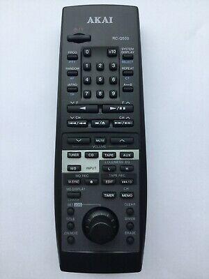 Akai RC-Q500 náhradní dálkový ovladač jiného vzhledu