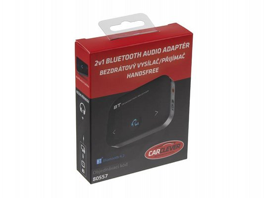 Audio adaptér s HandsFree Bluetooth 2v1 STU 80557