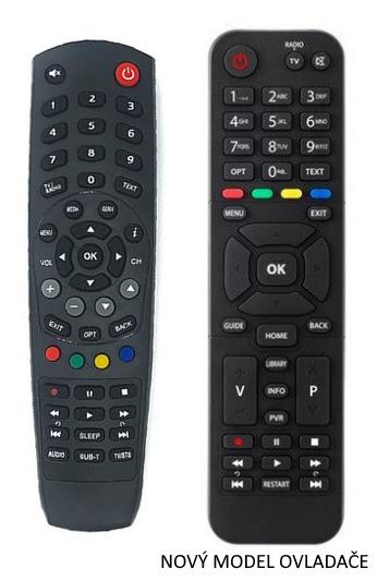 Kaon NA1000HD Digi TV originální dálkový ovladač - nový model
