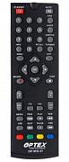 Optex ORT 8932-2T, DVB-T2 Náhradní dálkový ovladač jiného vzhledu