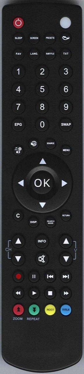 Telefunken RC1910 originální dálkový ovladač