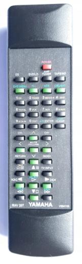 Yamaha RAV207, V694100 EU náhradní dálkový ovladač se stejným popisem